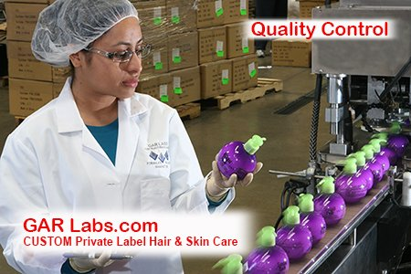 GAR Labs Laboratories Filling Inspection Hair Care Skin Care