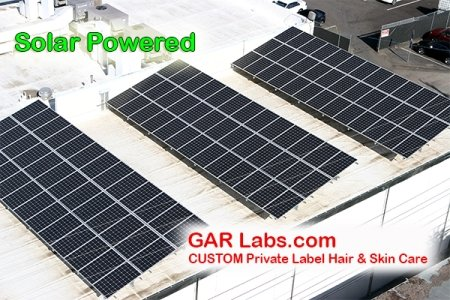 GAR Labs Laboratories Solar Panel Hair Care Skin Care