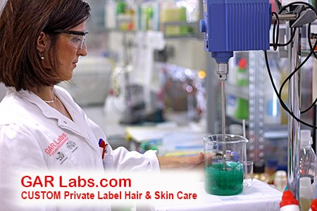 GAR Labs Laboratories Lab Testing Hair Care Skin Care