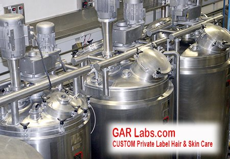 GAR Labs Laboratories Mixing Tanks 2 Hair Care Skin Care