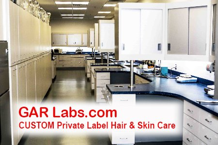 GAR Labs Laboratories Product Development Lab Hair Care Skin Care
